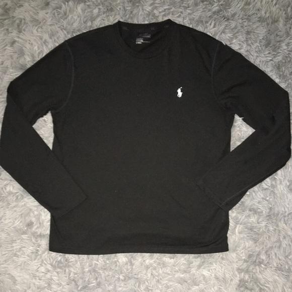 66bf6f64 Polo by Ralph Lauren Shirts | Polo Ralph Lauren Mens Black Long ...